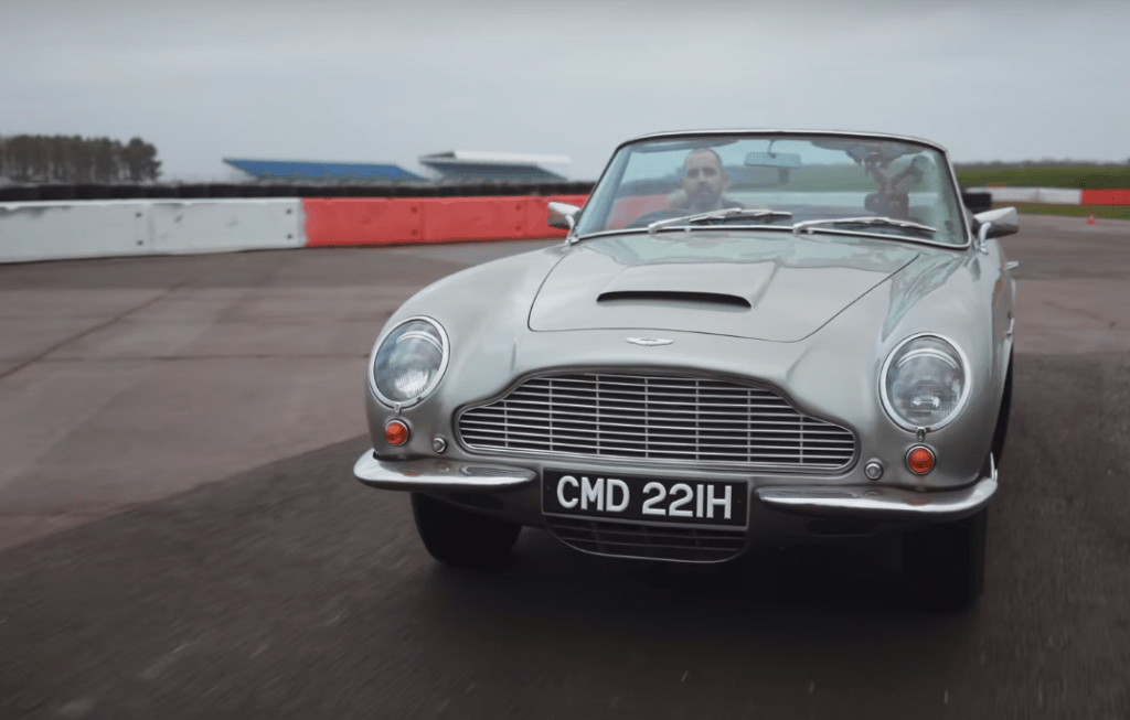 Электрическую версию классического Aston Martin DB6 оценили в  миллиона