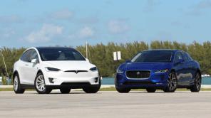 Сравнили Tesla Model X и Jaguar i-Pace - что из этого вышло