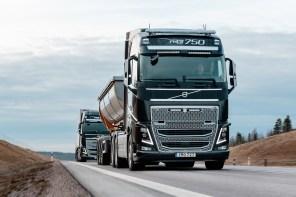 Volvo Trucks представили систему предупреждения об опасной дистанции Distance Alert