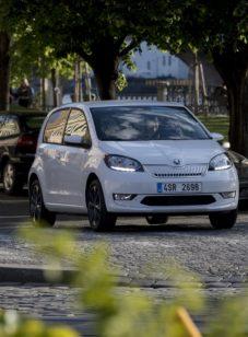 Электромобиль Škoda Citigo-e попал в объективы камер до официальной презентации