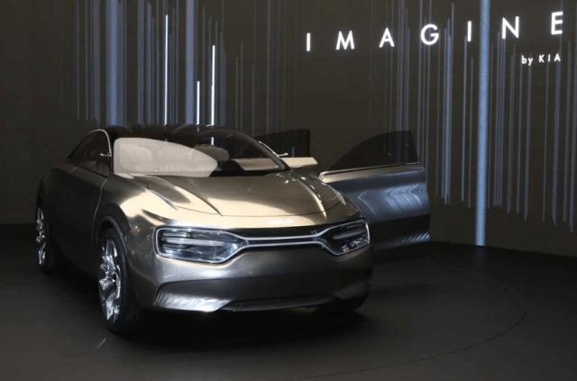 Электромобиль без боковых зеркал Kia Imagine пойдет в серию