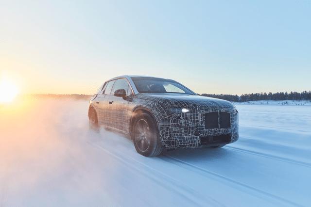 Изогнутый дисплей: в BMW придумали, чем удивить покупателей электрокроссовера iNext