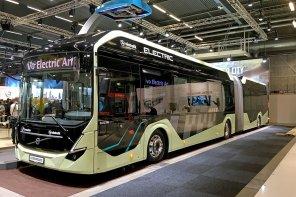 """Volvo представила полностью электрический автобус-""""гармошку"""""""