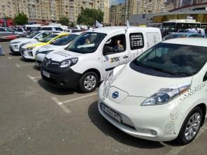Не наделали шума: в Киеве состоялся массовый автопробег электромобилей