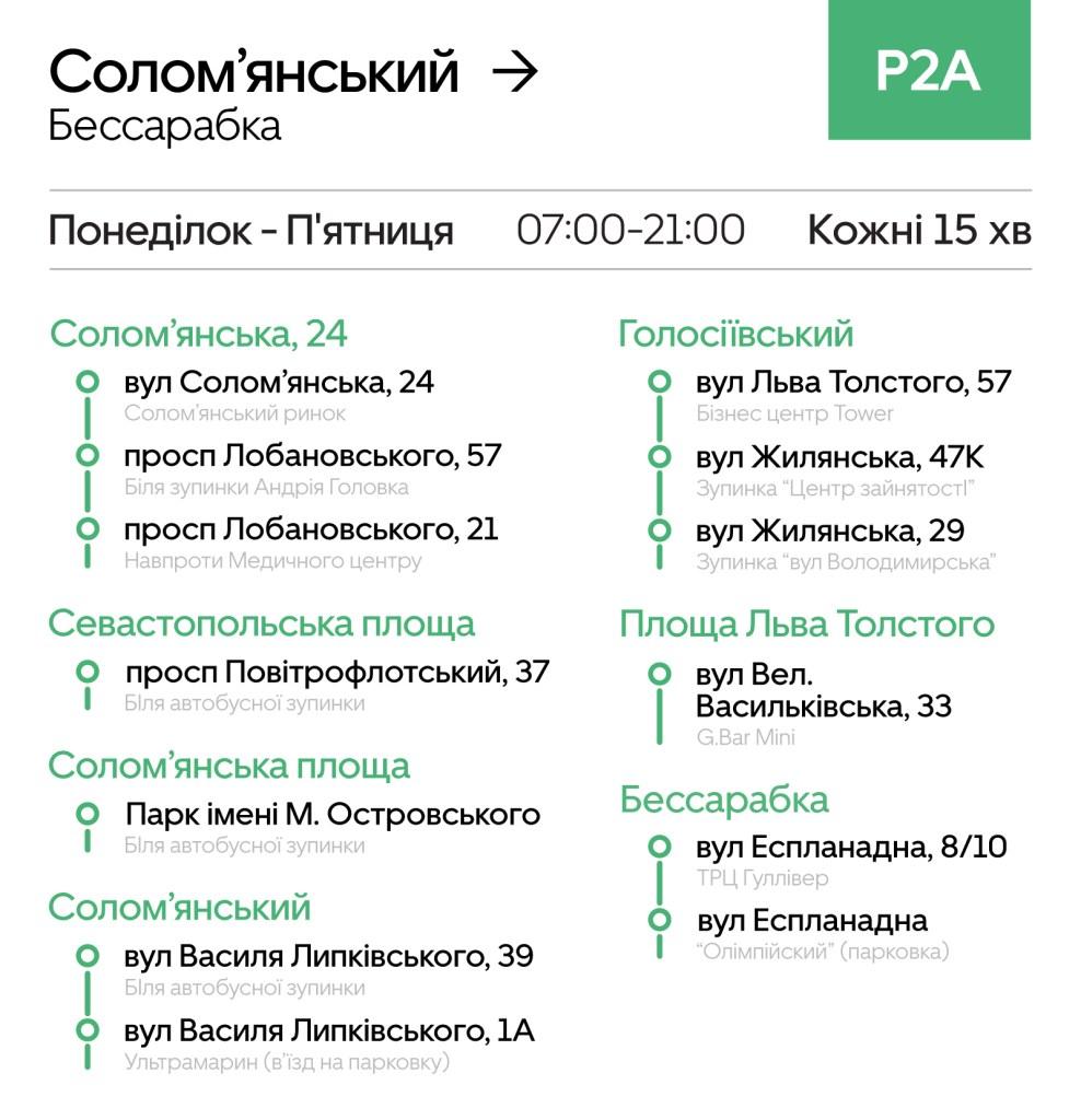 В Киеве запустили еще один маршрут для Uber Shuttle: подробности и статистика