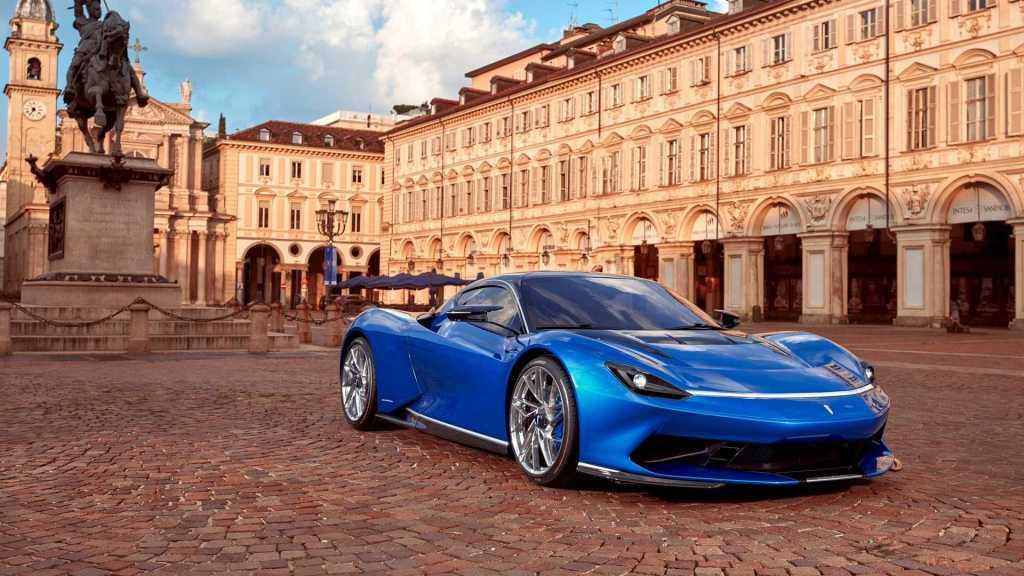 Pininfarina показала, как будет выглядеть обновленный электрогиперкар Battista