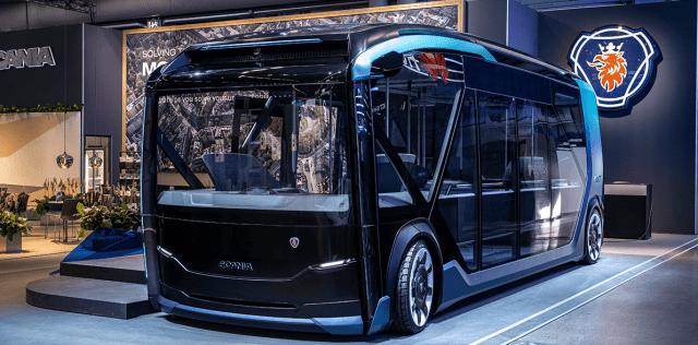 Scania представила свой вариант модульного электробуса для города