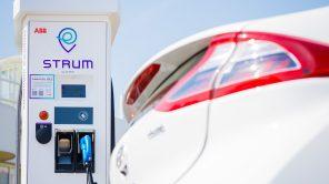 """""""Окно"""" в Европу: ДТЭК запустил 5 скоростных зарядных станций STRUM на трассе Киев-Львов"""