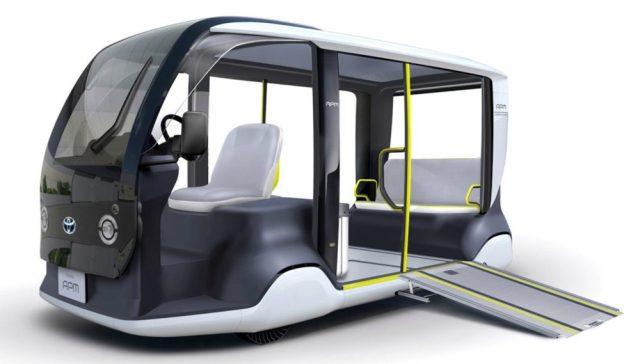 Toyota построит 200 эксклюзивных электрических шаттлов специально для Олимпиады-2020 в Токио