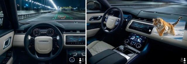 Новое поколение HUD-дисплеев в Jaguar Land Rover с эффектом 3D: зачем это нужно 3