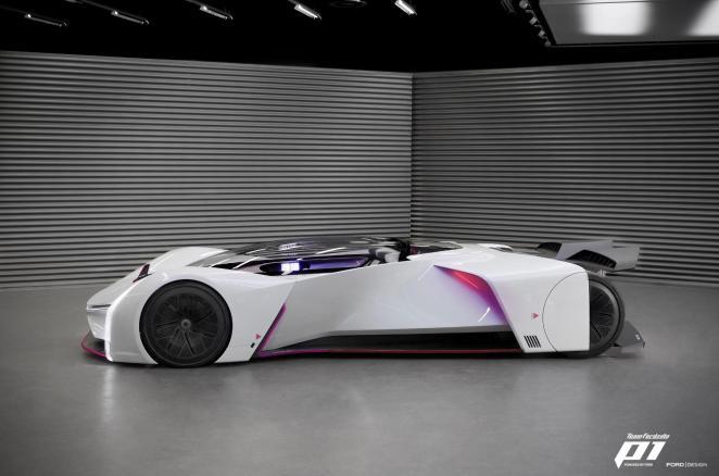 5 країн та 7 тижнів: віртуальний суперкар Ford Team Fordzilla P1 отримав фізичний макет