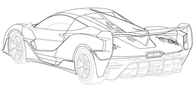 Гібридний гіперкар McLaren Sabre випустять обмеженим накладом: опубліковано патентні зображення