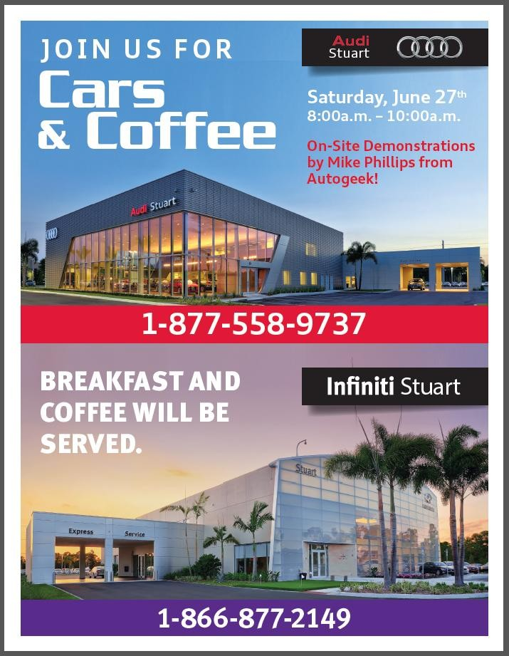 Stuart Ford Dealership : stuart, dealership, Coffee, Saturday, Infiniti, Stuart,, Florida