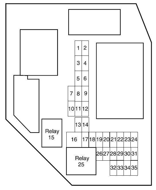 2007 Ford Ranger Fuse Box Diagram : ranger, diagram, Ranger, (2007), Diagram, Genius