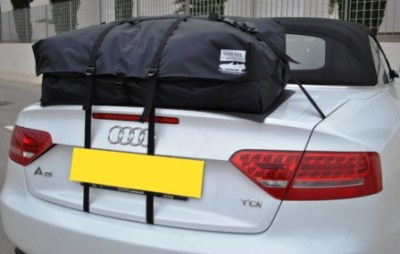 Audi A4 cabrio Gepäckträger bootbag vacation
