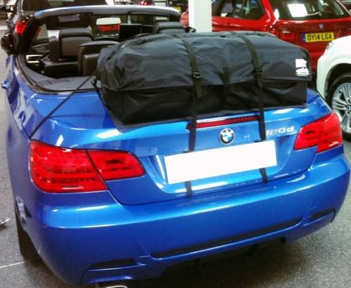 BMW 3er Cabrio E93 Gepäckträger : Boot-bag Urlaub