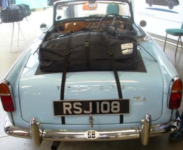 Triumph TR4 Gepäckträger