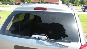 broken auto glass