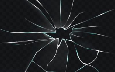 Types of crack on Windshield