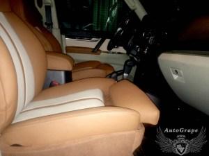 Установка передних комфортных сидений на Pajero