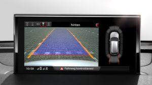 Audi TT MIB камера заднего вида