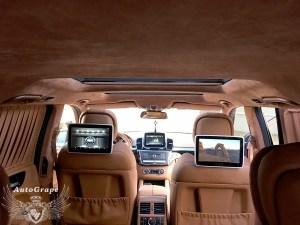 Задние мониторы Mercedes