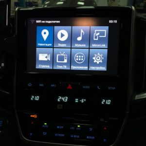 Land Cruiser 200 Android