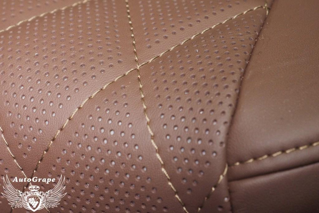 Перетяжка сидений в дизайне Excalibur