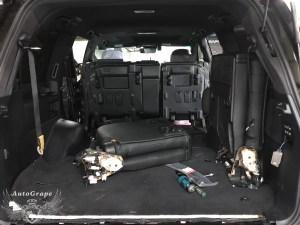 Третий ряд сидений Lexus LX