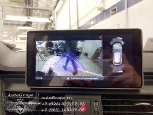 Камера заднего вида для Audi