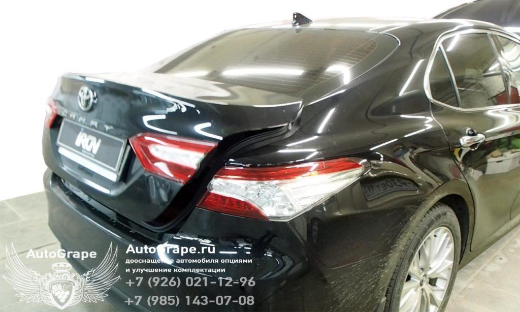 Автоматический привод багажника Toyota Camry v70