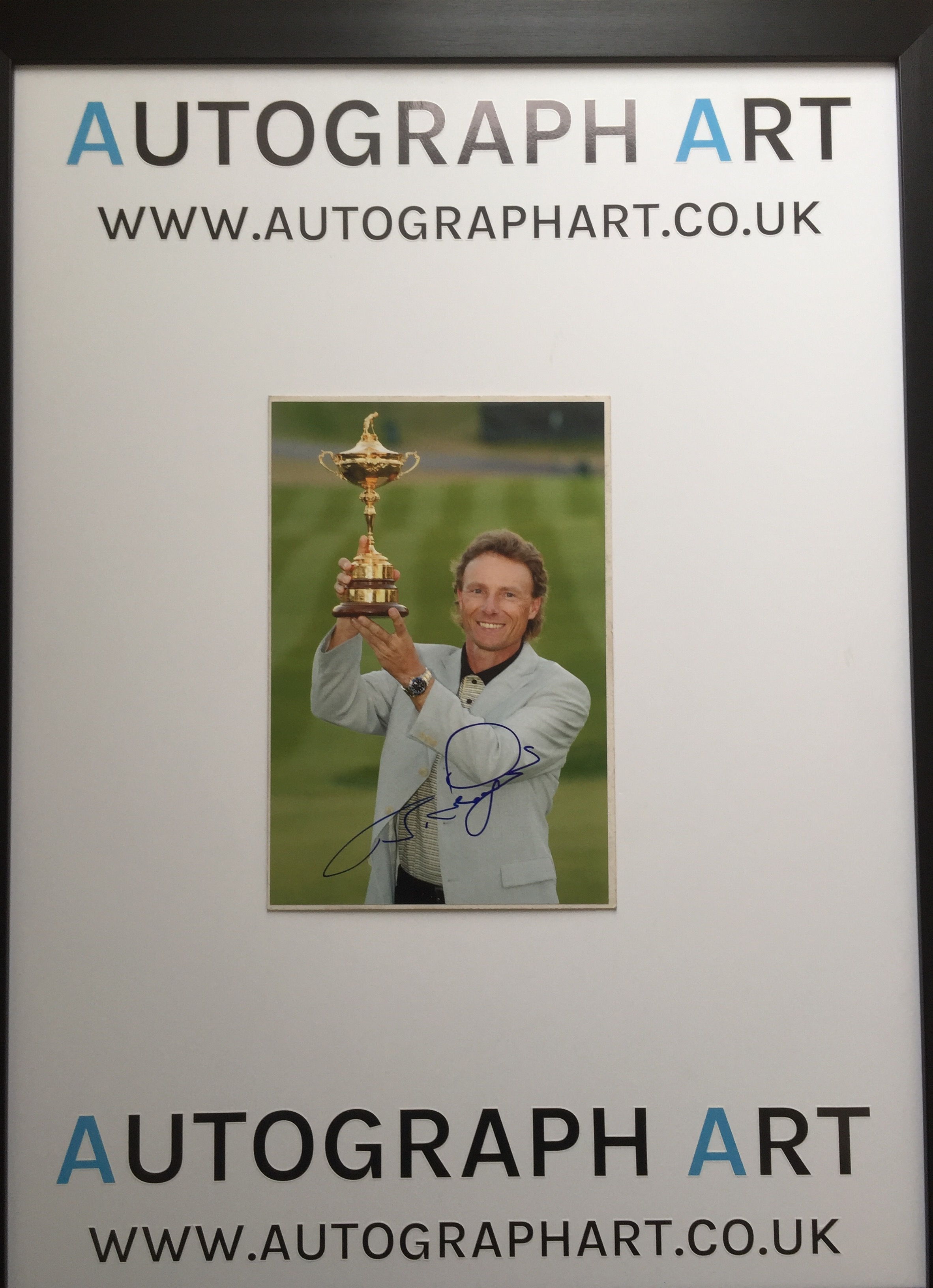 bernhard chair review high for adults langer signed photo 12 x 8 autographed memorabilia