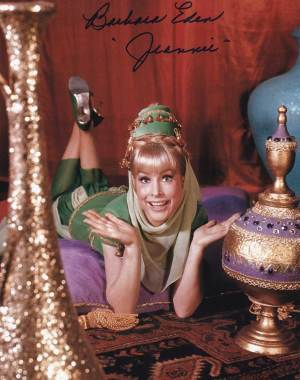 Barbara Eden in-person autographed photo