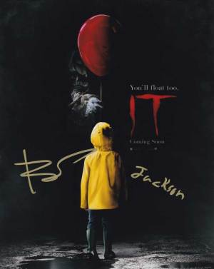 IT In-person autographed Cast photo