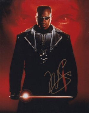 Wesley Snipes In-person Autographed Photo