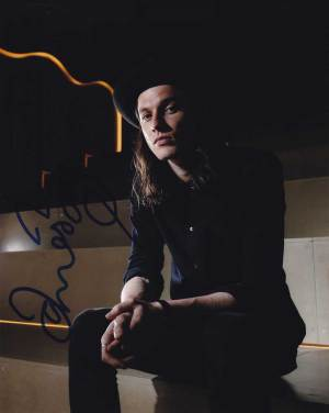 James Bay in-person autographed photo