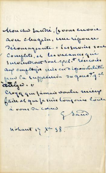 Un cadeau original un manuscrit ou une lettre originale