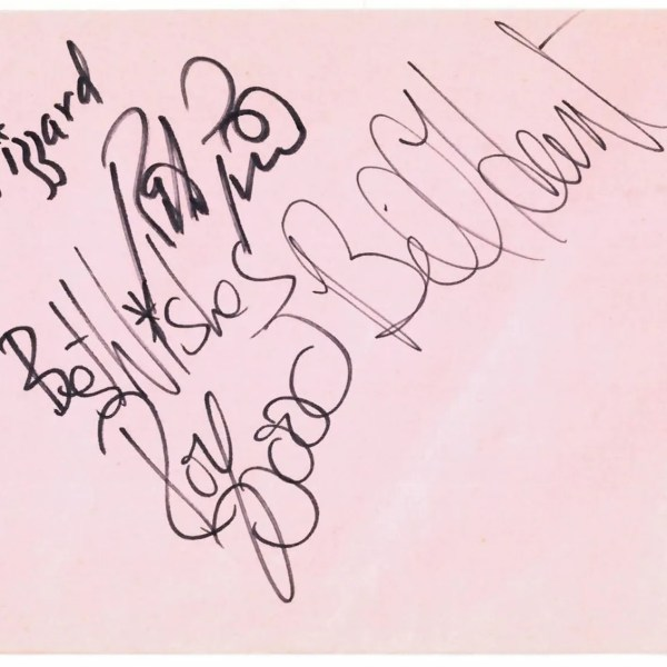 Wizzard autographs including Roy Wood – UACC Registered Autographs