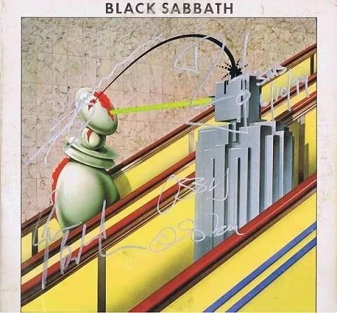 Black Sabbath Autographs Technical Ecstasy Lp