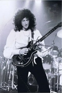 Brian May Queen Autographed photograph 12×8 #2