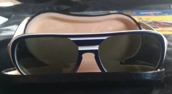 George Harrison's personal owned and worn Ray Ban sunglasses