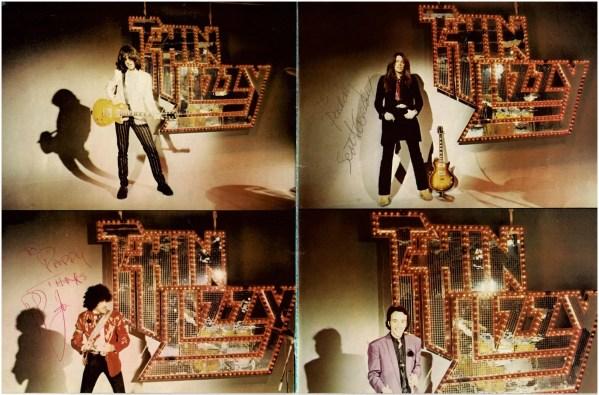 Thin Lizzy Autograph 1979 Tour Programme   Phil Lynott