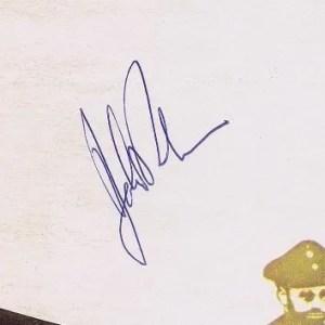 John Bonham autograph led zeppelin 6