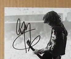 fake jimmy page autograph led zeppelin