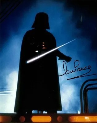 Dave Prowse aka Darth Vader Autograph – Star Wars Autographs