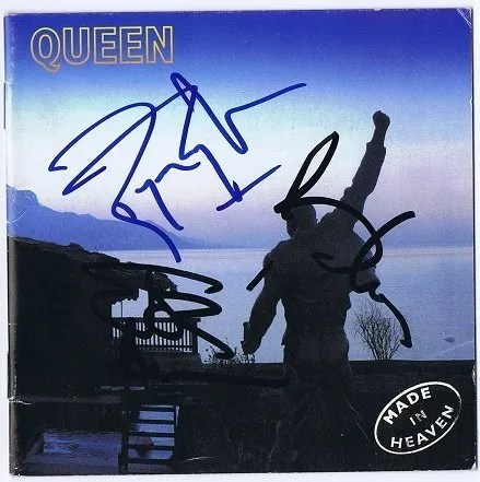 Made In Heaven Queen Autographs CD Cover