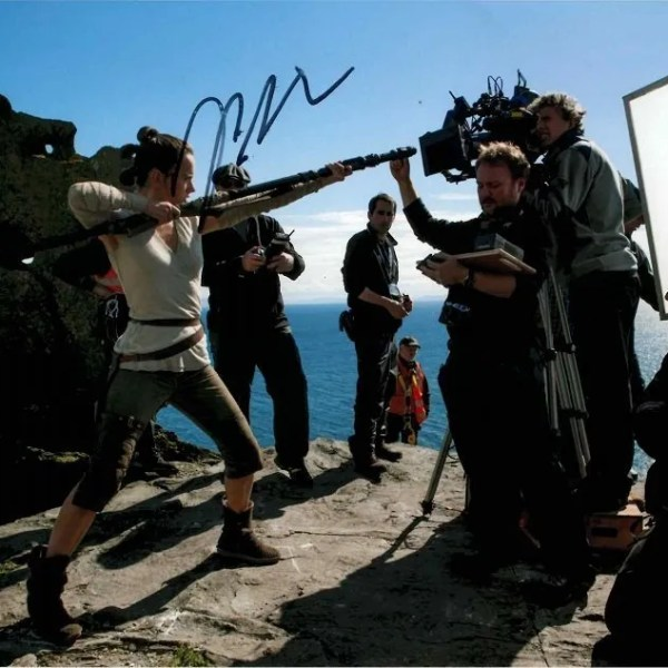 Rian Johnson autographs for sale Star Wars