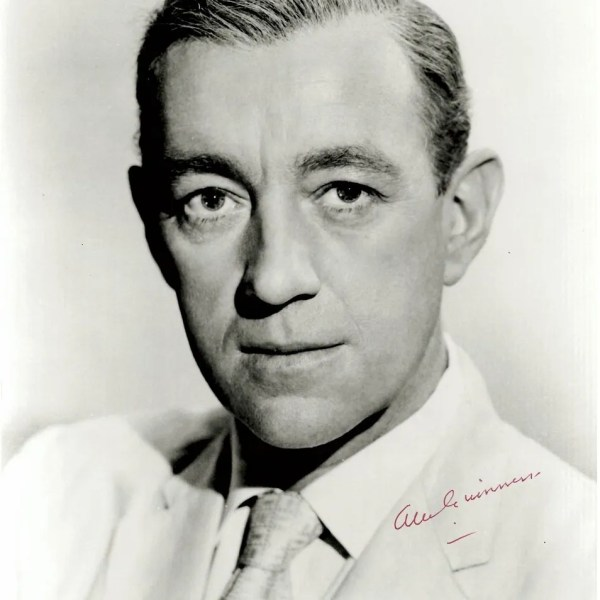 Alec Guinness autograph for sale early 8×10 portrait photograph