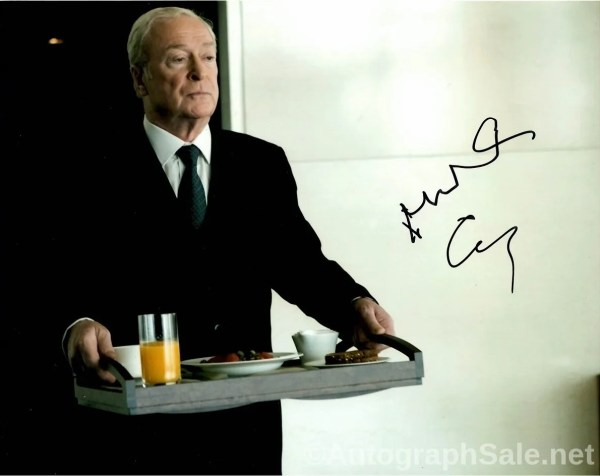 Michael Caine Autograph for sale 8×10 photo