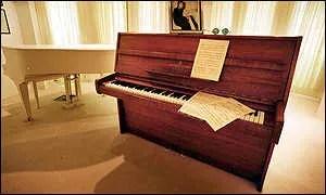John Lennon imagine piano george michael